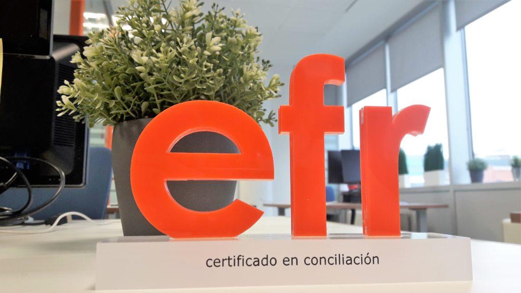 logo certificado conciliación efr